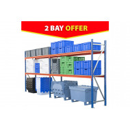 Rapid Span Shelving 2 Bay Bundle Deal 5628wx2000h