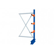 Heavy Duty Single Sided Cantilever Racking Add On Bay
