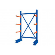 Heavy Duty Single Sided Cantilever Racking Starter Bay
