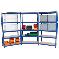 Budget Shelving 3 Bay Bundle Deal