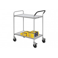 Heavy Duty 2 Level Shelf Trolley (200kg Capacity)