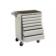 Silver Range 7 Drawer Mobile Tool Cabinet