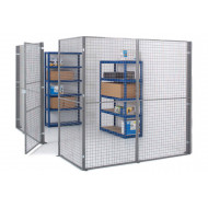 Support Post For Mesh Partitioning System
