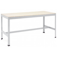 Rapid 1 Heavy Duty Workbench With T Bar Support (Grey)