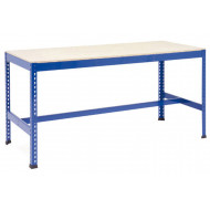 Rapid 1 Heavy Duty Workbench With T Bar Support (Blue)