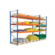 Heavy Duty Widespan Shelving With Galvanized Steel Shelves 1785wx2000h