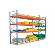 Heavy Duty Widespan Shelving With Galvanized Steel Shelves 2140wx2000h