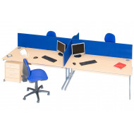 Thompson Rectangular Desktop Screens
