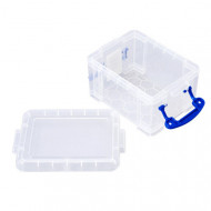 Pack Of 16 x 0.3ltr Really Useful Boxes (Clear)
