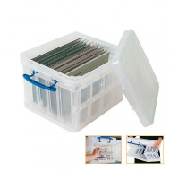 35ltr Really Useful Box (Clear)