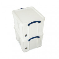 Extra strong 35ltr really useful box (white)
