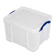 Extra Strong 42ltr Really Useful Box (White)