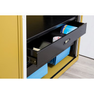 Roll Out Drawer For Bisley Systemfile Tambour Cupboards