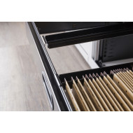 Pack Of 10 File Bars To Convert Foolscap Drawers For A4 Filing