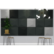 Pack Of 9 Acoustek Roma Acoustic Wall Panels