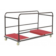 Trolley For Round Folding Trestle Tables
