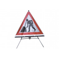 Extendable Stand For Roll Up Traffic Signs