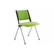 Pack of 2 Arize Folding Chairs With Upholstered Seat & Back