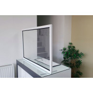 Guard Freestanding Clear Protective Desk Screens