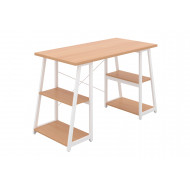 Shen Home Office Desk With A Frame (White Frame)