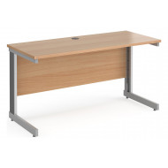 Tully Deluxe Narrow Rectangular Desk