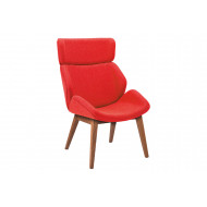 Alba Chair With 4 Wooden Legs