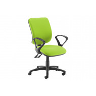Polnoon Ergonomic High Back Operator Chair (Fixed Arms)