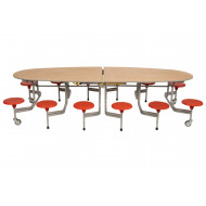 Sico Communicator 12 Seater Table Seating Unit