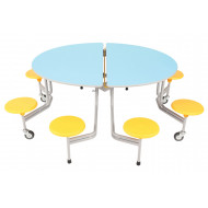 Sico Graduate 8 Seater Oval Seating Unit With Stools