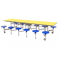 Sico Rectangular Table Seating Unit With 12 Seats