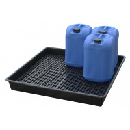 Spill Tray Base With 4 Grids