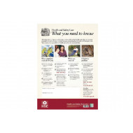 HSE Law Poster - Legally Required