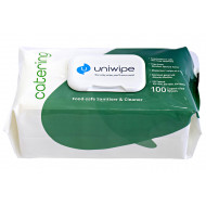 Uniwipe Alcohol Free Catering Wipes (100 Wipes)