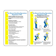 Manual Handling Operation Regulations 1992 Pocket Guide