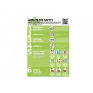 Workplace safety guidance poster