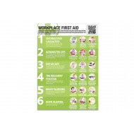 Workplace First Aid Guidance Poster