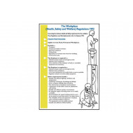 Workplace Health, Safety & Welfare Regulations 1992 Wallchart