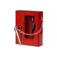 Securikey Emergency Key Box With Cylinder Lock, Hammer And Chain