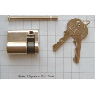 Euro Single Cylinder For Securikey Solid Fronted Emergency Key Box