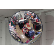 Economy Acrylic Interior Convex Safety Mirror 300mm Dia