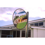 Round Acrylic Exterior Convex Safety Mirror 900mm Dia