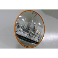 Round Acrylic Food Processing Industry Mirror 600mm Dia