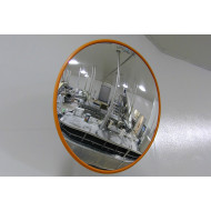Round Stainless Steel Food Processing Industry Mirror 600mm Dia