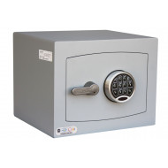 Securikey Mini Vault Silver Cash Safe Size 1 With Electronic Lock (26ltrs)