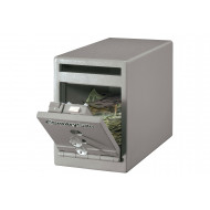Master Lock UC-025K Small Under Counter Deposit Safe With Dual Key Lock (6ltrs)
