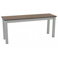 Gopak Enviro Compact Outdoor Bench With Slatted Top