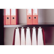 Slotted Shelf With Undershelf Filing For Bisley Systemfile Tambour Cupboards