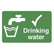 Drinking Water On The Spot Safety Labels