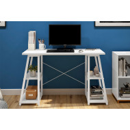 Shen Home Office Desk With A Frame (White)