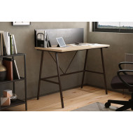 Shen Home Office A Frame Desk With Backboard (Oak)